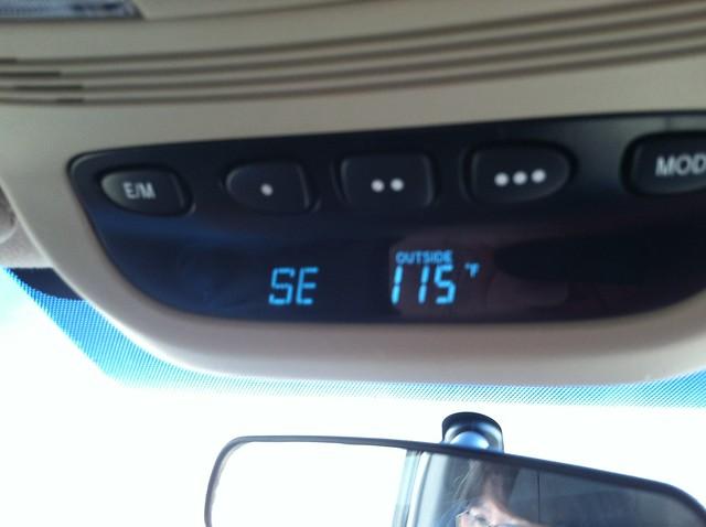It's HOT in the Desert!
