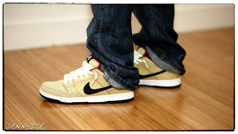 cheap for discount 47ad8 8f03a Nike SB Dunk Low Gold Dust | Love the colors of these SB's ...