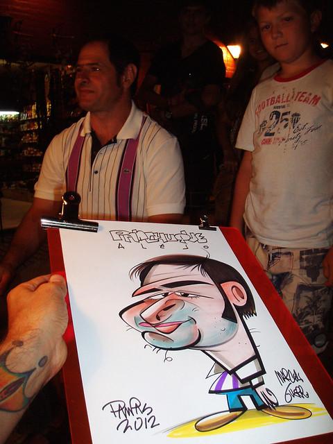 show caricaturas en eventos