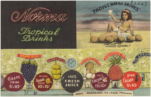 Norma Tropical Drinks | by Boston Public Library