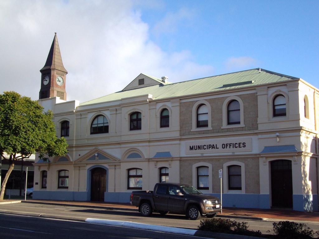 Old Town Hall Murray Bridge, South Australia.
