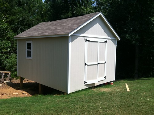 finished shed | by paulbrownblog