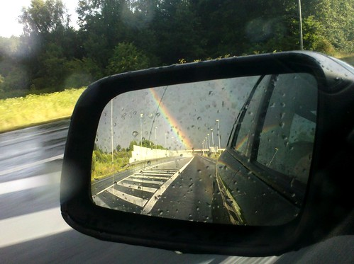 Running away from the rainbow | by michal_bielecki