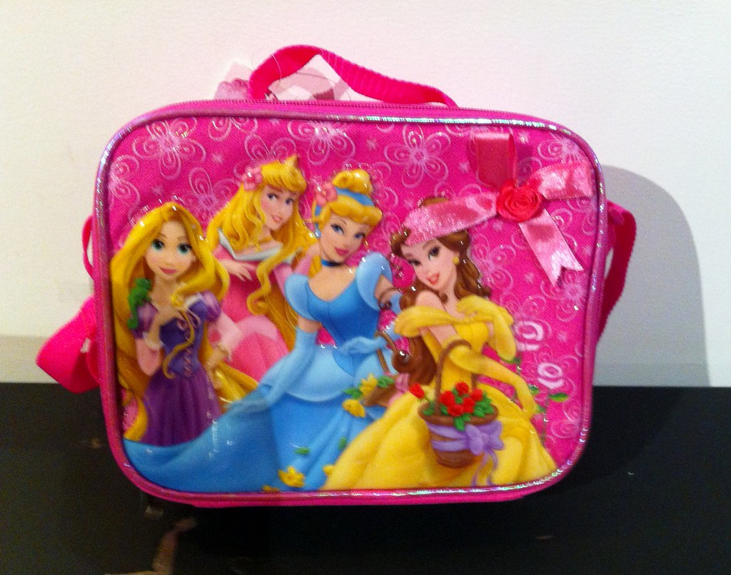 Disney Princess Lunchbox: Contains Phthalates 29x Limit Set by Federal Ban