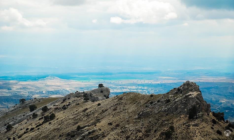 Crestas del Calarejo y los llanos de Campo Cebas