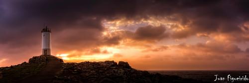 sunset sea panorama españa seascape mar spain percebe galicia puestadesol costadamorte solpor corme roncudo puntaroncudo percebeiros ponteceso fz150 faroroncudo farosgallegos farosdegalicia juanfigueirido