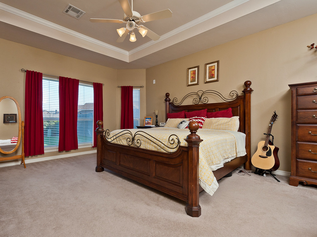 4812 Jay Matt Dr | Deer Run | Yukon OK | Master Bedroom
