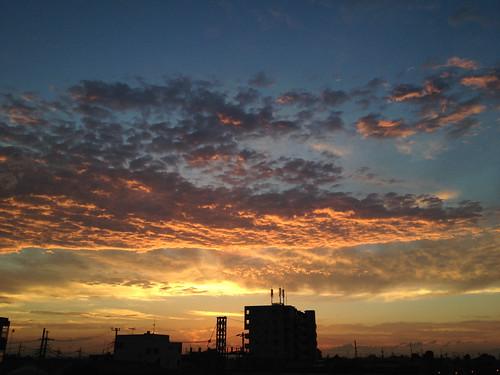 sky scene 空 景色