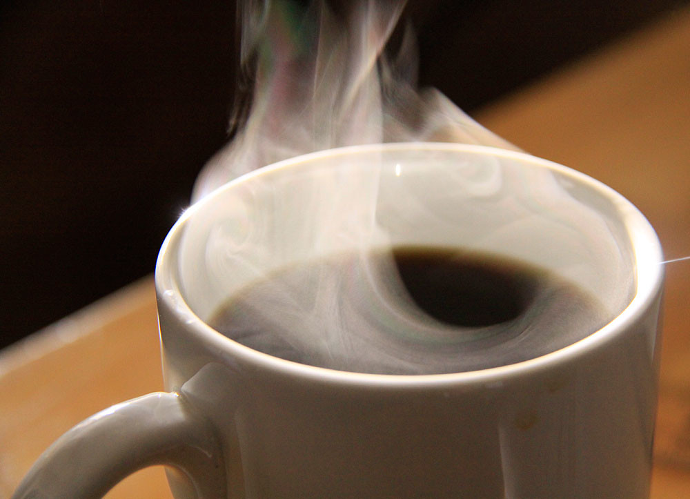 Steaming Coffee Photo source - flickr