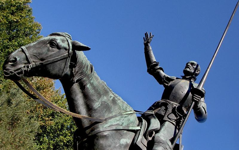 Don Quixote, Plaza de España