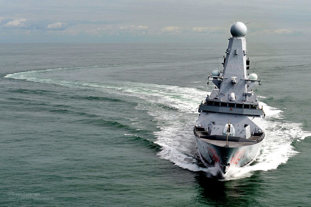 Royal Navy Type 45 Destroyer HMS Dragon