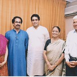 Dr Rahul Joshi, Dr Prakash Joshi, Sanjivani Joshi With Uddhavji and Rashmi Thackeray
