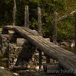 Bridge at foot of Lower Quartz Lake