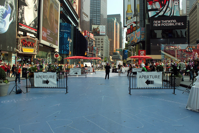 Early Morning on Pedestrian Plaza