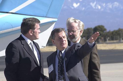 Tom Ridge John Browne and John Immele