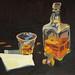 Usquebaugh, Oil on board, 40x31cm