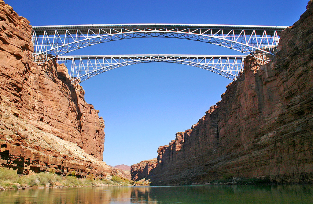 Navajo Bridges, River View