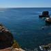 Cascais rocky coast panorama