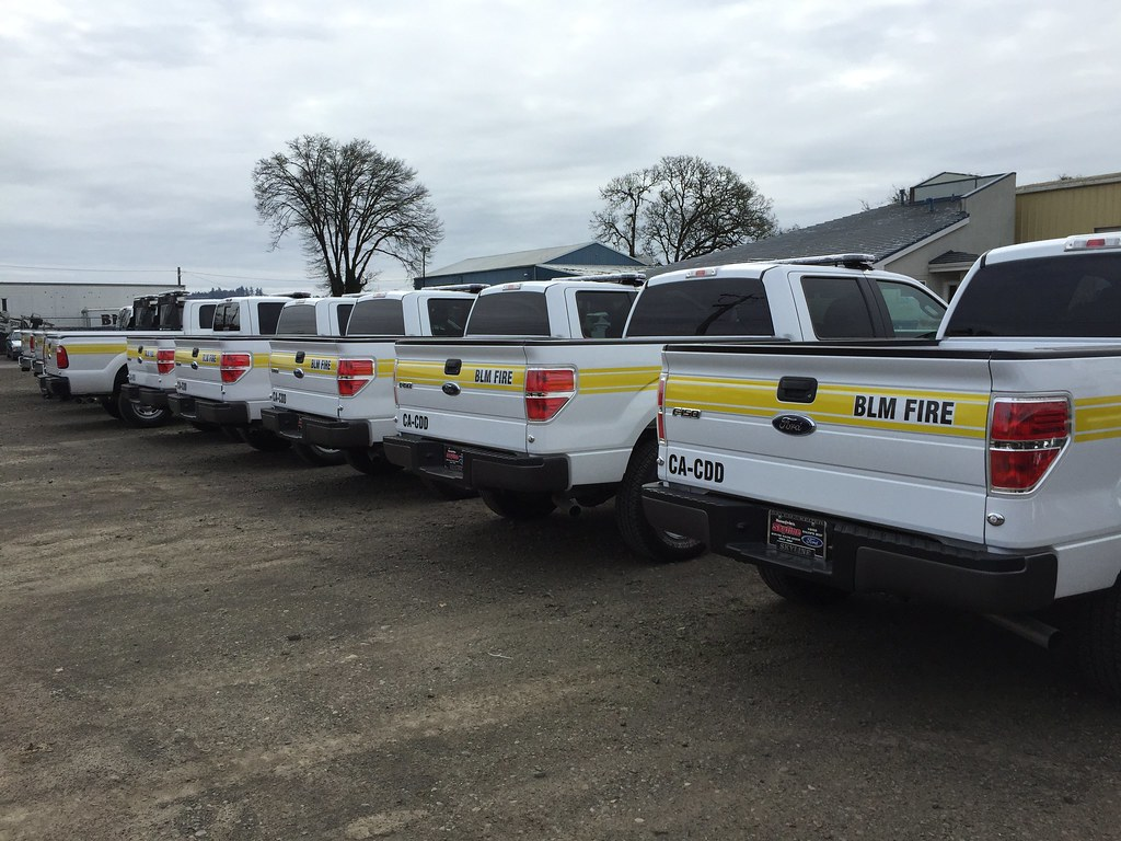 Small team gets BLM firetrucks to America's wildfires