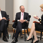 Mon, 02/11/2015 - 9:50pm - Charlie Rose, Mike 'Doc' Emrick, and Jane Pauley. November 2, 2015 in New York City. Photo by Chris Taggart.