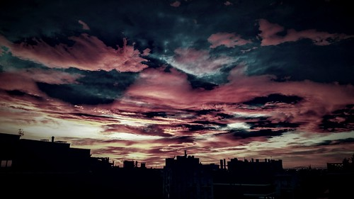 city sunset sky españa clouds landscapes spain europa europe cielo nwn supershot citylandscapes lovelyclouds