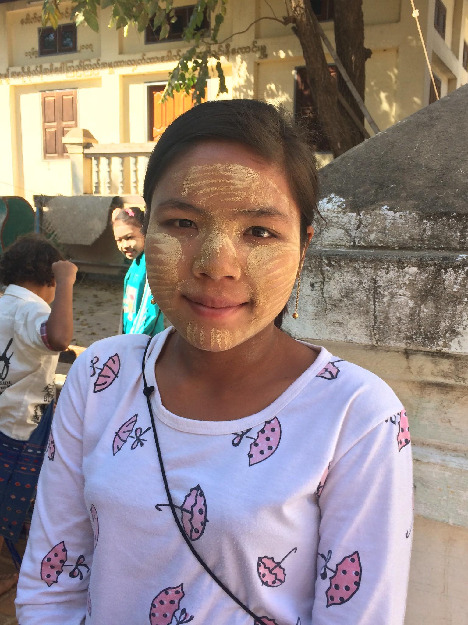 Jeune fille de Birmanie, Mandalay