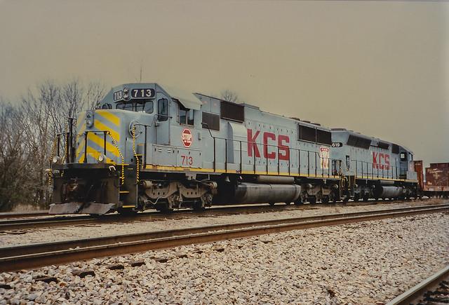 KCS 713 DeQueen Arkansas 3/13/96