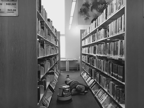 Library Nap | by Tyler Merbler