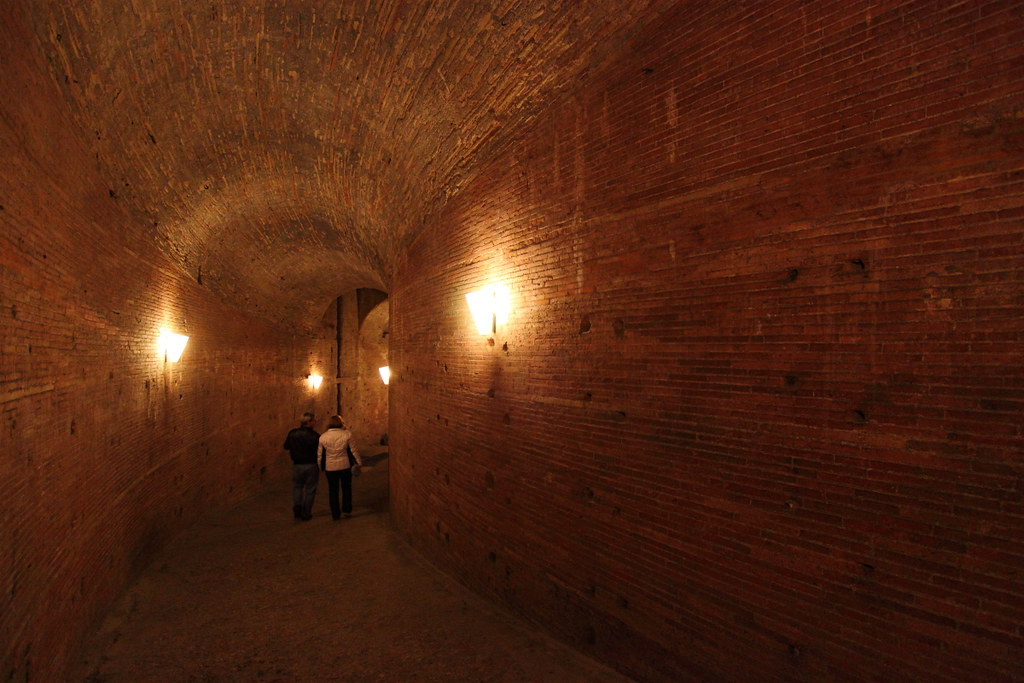 Inside the Castel Sant'Angelo | The Mausoleum of Hadrian, us