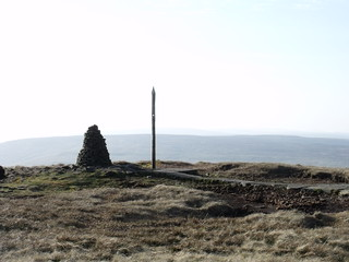 Summit of Buckden Pike, 25th March, 2012