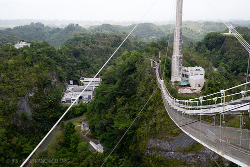 nikon puertorico platform arecibo pr nikkor radar catwalk radiotelescope westindies telescopio areciboobservatory radiotelescopio telecope greaterantilles nationalastronomyandionospherecenter d3s 2470mmf28g antillasmayores isladesanjuanbautista