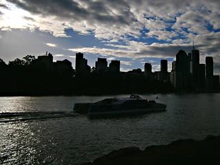 Brisbane City Cat. | by Neil Ennis