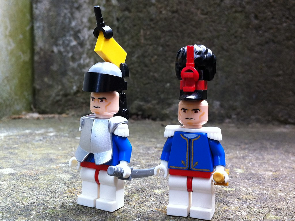Lego Napoleonic Soldiers   guydeos   Flickr