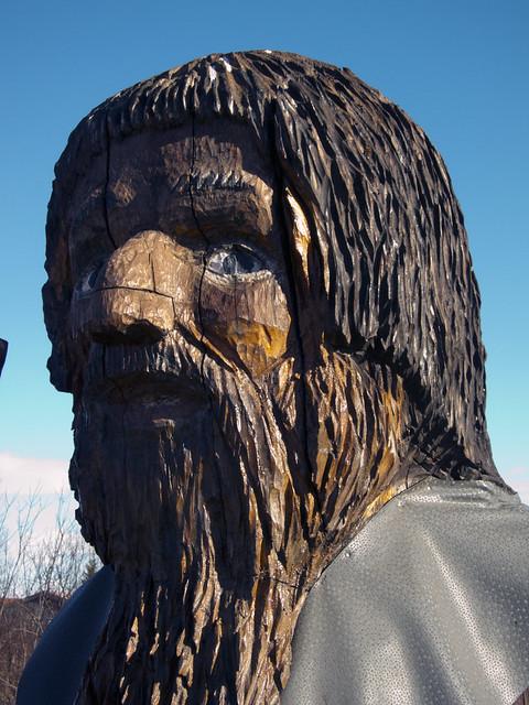 Statue Outside Hótel Geysir, , Haukadalur Geothermal Area, Bláskógabyggð