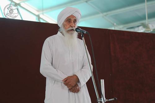 Ajit Singh from Sant Nirankari Colony, expresses his views