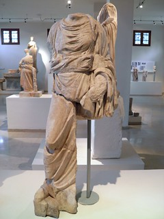 The children of Asklepios, Akeso, 2nd c. AD, Archaeological Museum, Dion   by Following Hadrian