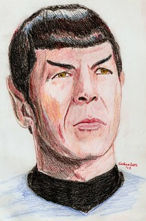 Spock | by Tram Painter
