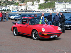 Porsches on the Prom