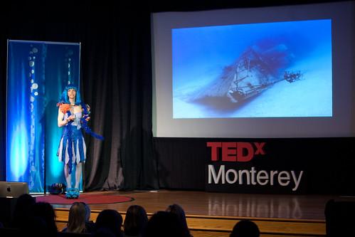Colleen Flanigan - Sea Sculpture   by TEDxMonterey