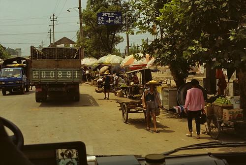 china massacre location revolution roadsign 1994 province cultural hunan yongzhou daoxian road207 jianghua