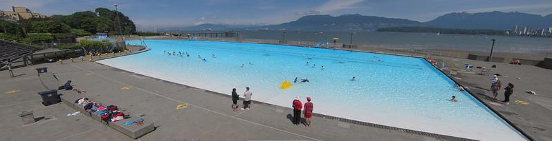 Kitsilano Pool Panorama