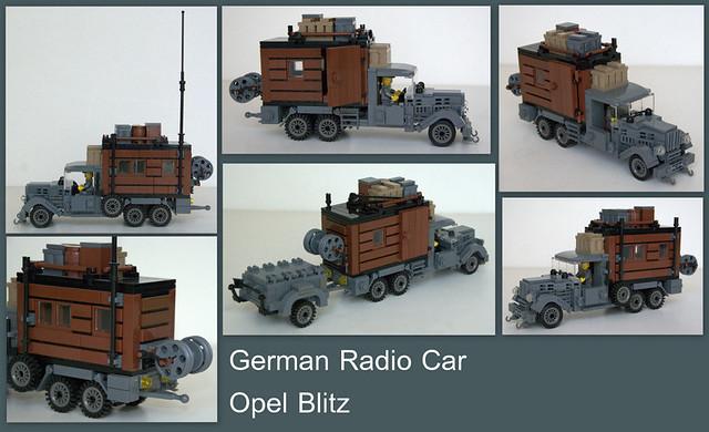 WWII German cars