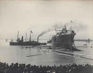 Launching of the HMS Euryalus (1901)