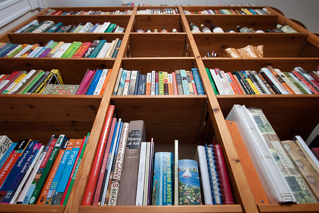 Bookshelf, Filled At Last [239/366]