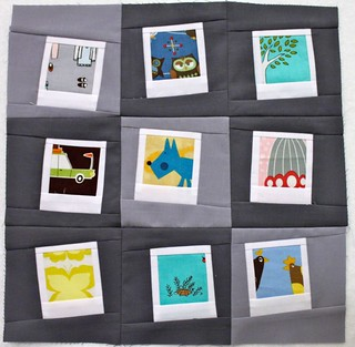 Wonky Quilt Bee - March Polariods | by Quilt. Knit. Share.