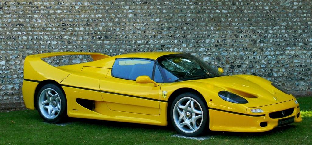 Ferrari F50 Yellow Vr Stkone Thx For 30 Milion Views Flickr