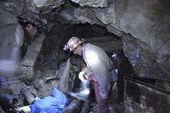 Fent feina de miner per 5 minuts