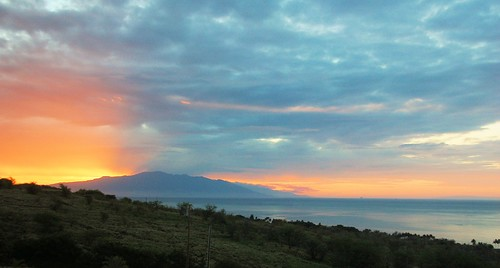Sunrise over Maui, By Rose Braverman Molokai Hawaii | by Rose Braverman