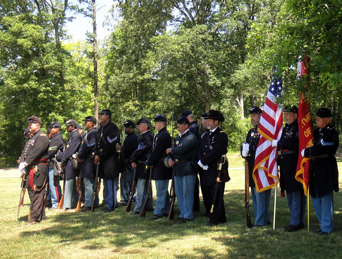 US Colored Troops at  USCT Memorial Ceremony, Lexington Park