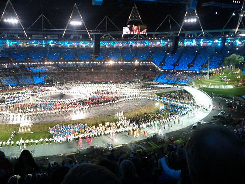 #london2012 #openingceremony more countries, more flags | by gorgeoux